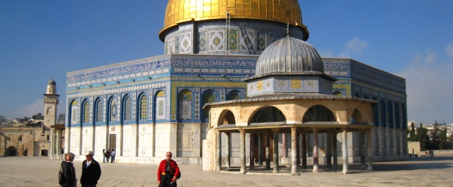 THOUGHTS FROM JACKIE: PRAY FOR THE PEACE OF JERUSALEM