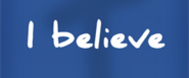"""THOUGHTS FROM JACKIE:  """"Lord, I believe; help my unbelief!"""""""