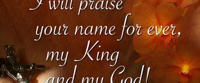 """THOUGHTS FROM JACKIE: """"Forever Praise"""""""